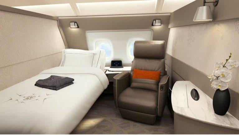 Hur är det att flyga First Class?