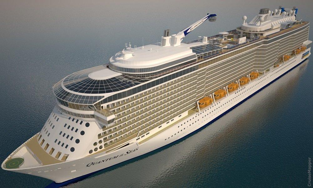 2020 lanserar Royal Caribbean nytt skepp i Quantum Ultra-klassen 1