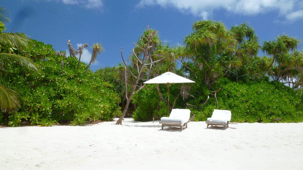 Strand på Laamu