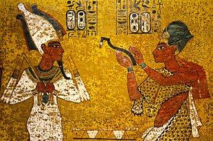 Konungarnas dal, Egypten