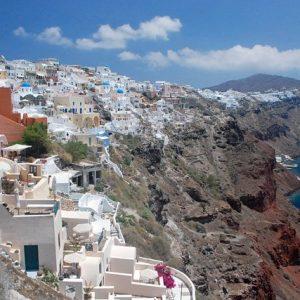Santorini - Grekisk drömö 1