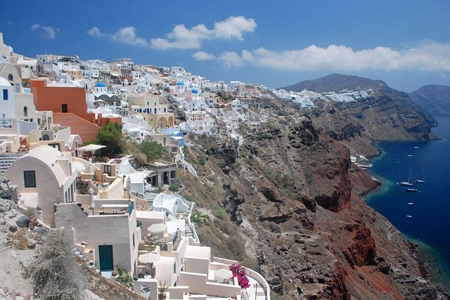 Santorini - Grekisk drömö