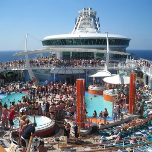 Freedom of the Seas, kryssning i Karibien 1