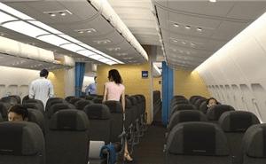Se SAS nya kabin på långlinjer 1