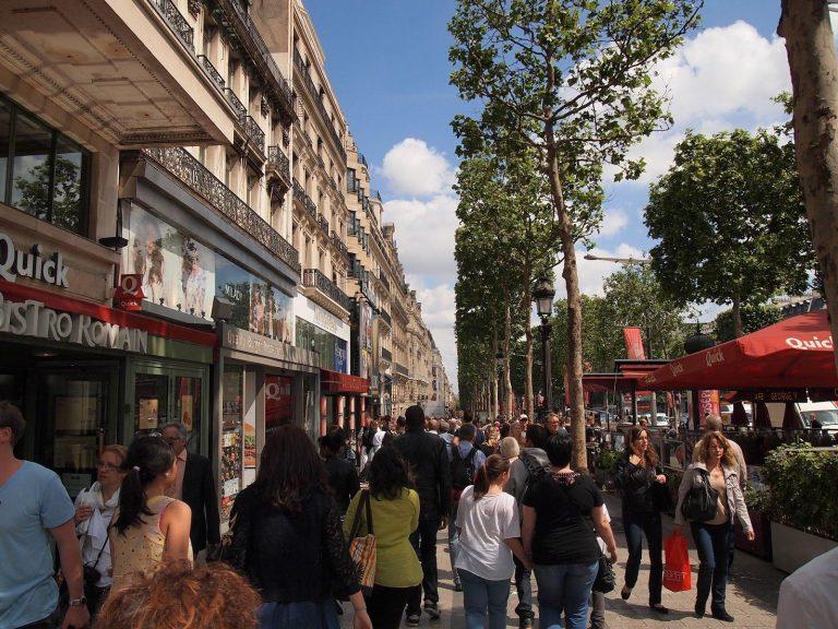 Fem Shoppingområden i Paris