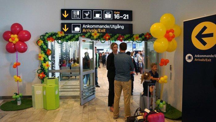 Ny flygterminal i Göteborg invigd
