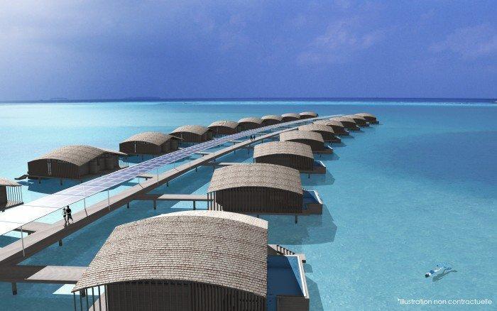 Club Med: Ny lyxresort på Maldiverna