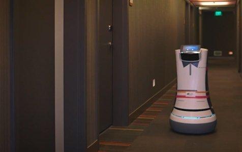 Första Robotbutlern anställd på hotell i USA