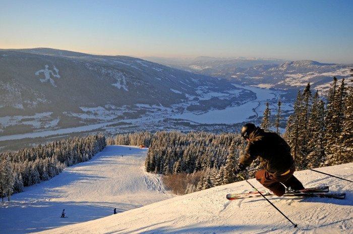 Vinter i Norge, stort intresse
