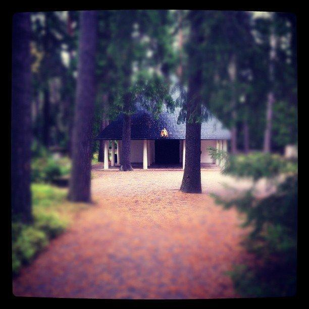 Resesidan bloggar om Skogskyrkogården