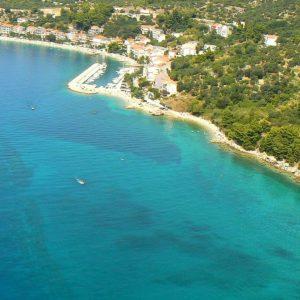 Kroatiens vackra kust