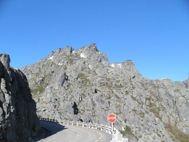 Öde vägar i Stjänrbergen