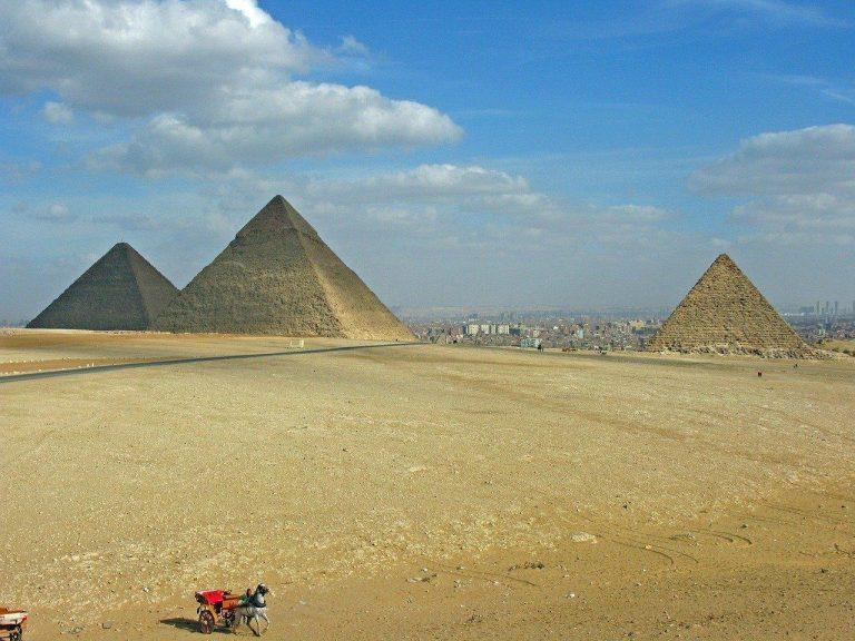 Lena bor i Egypten där hela landet är en kulturskatt