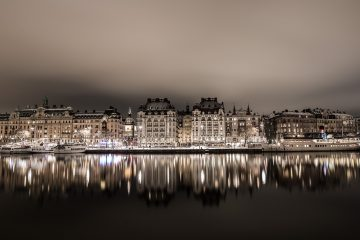 Stockholm, from old to new buildings 1