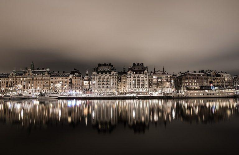 Stockholm, from old to new buildings
