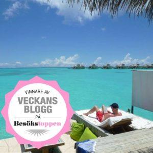 Vinnare av Veckans Blogg, Resesidan.se