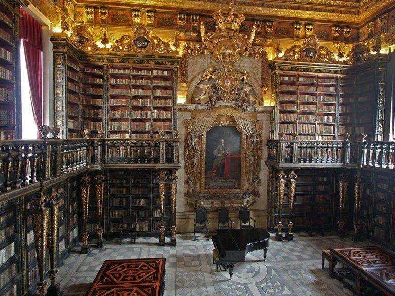 Biblioteket i Coimbra