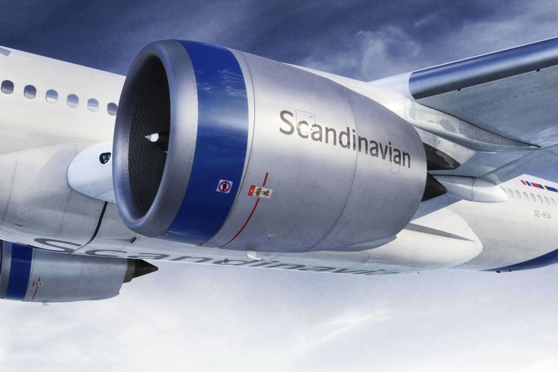 SAS nya flygplansmålning 4
