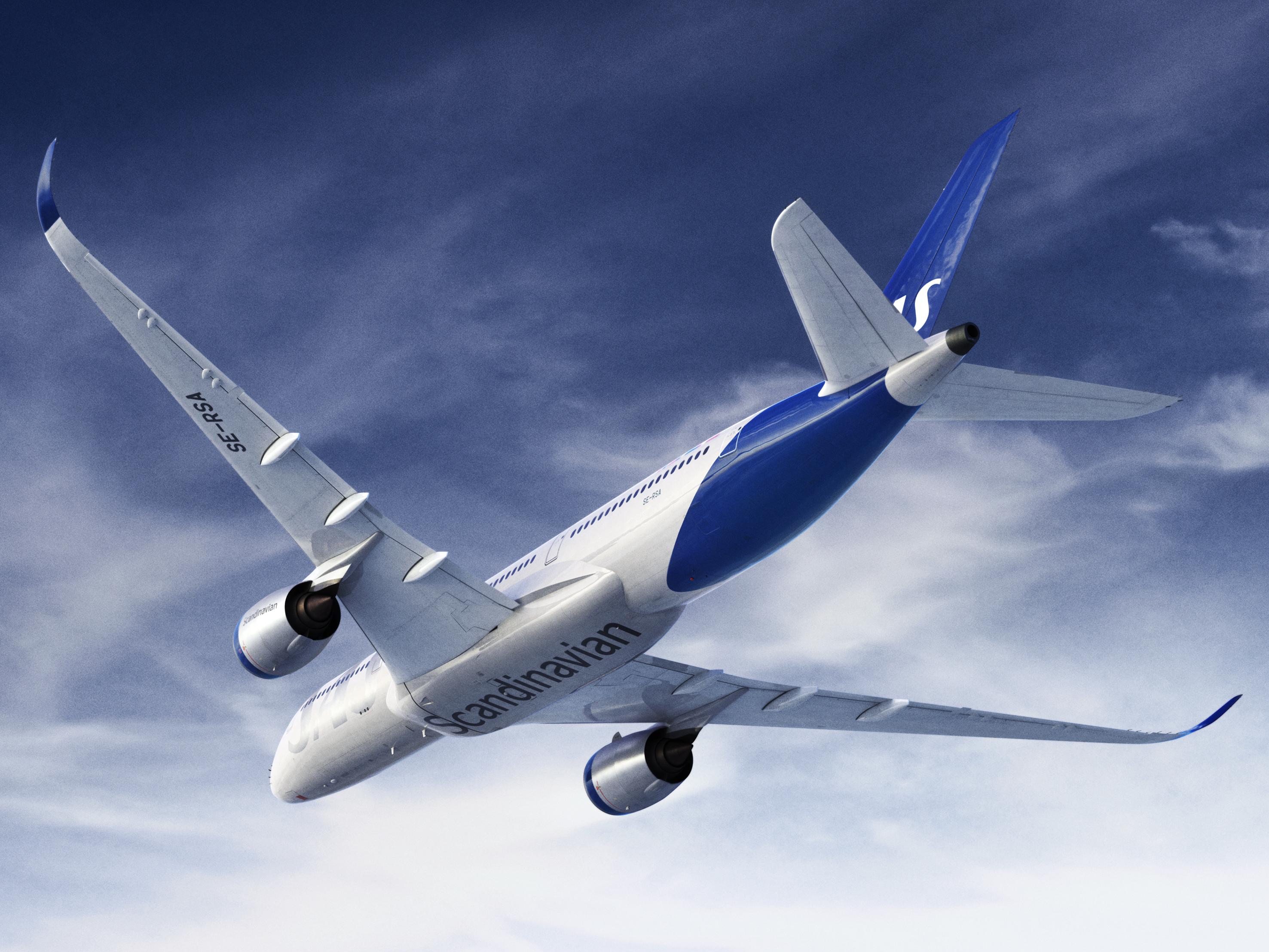 SAS nya flygplansmålning 5