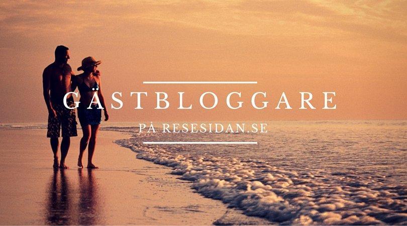 Gästbloggare på Resesidan.se