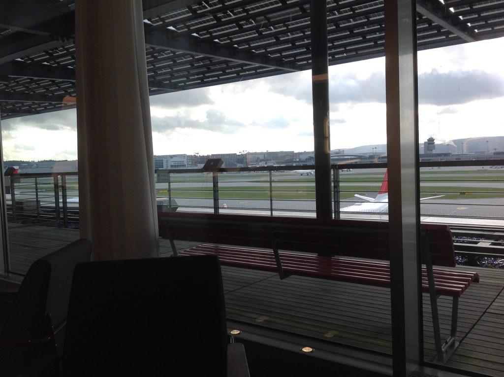 Live utdaterad: Senator Lounge, Zürich flygplats 2