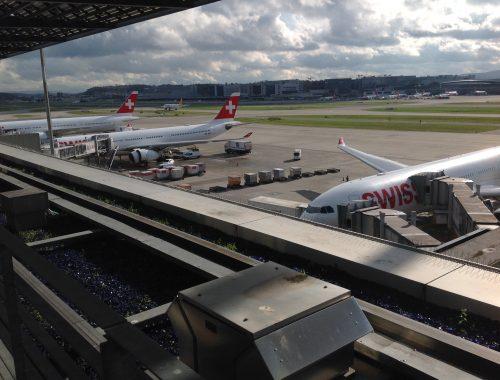 Live utdaterad: Senator Lounge, Zürich flygplats 3