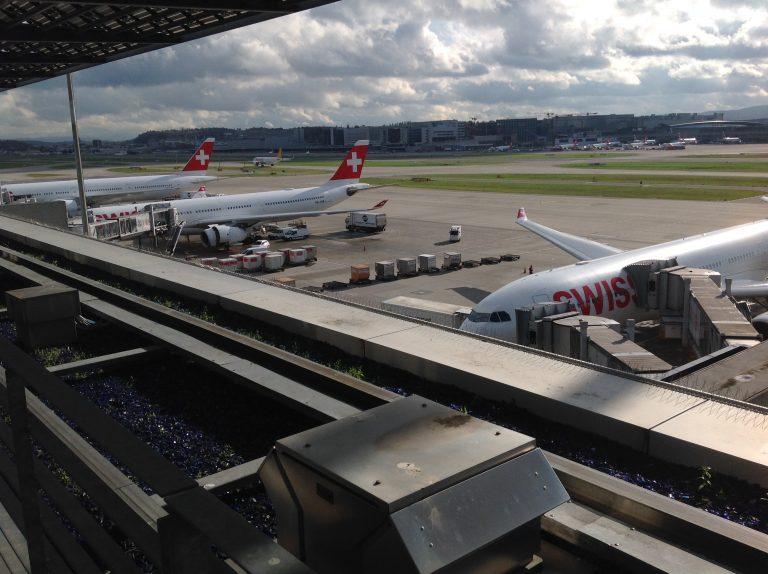 Live: Senator Lounge, Zürich flygplats