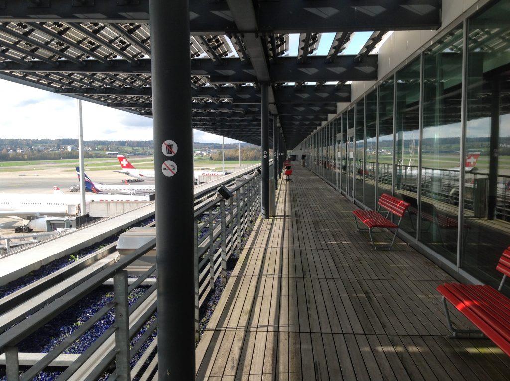 Live utdaterad: Senator Lounge, Zürich flygplats 4