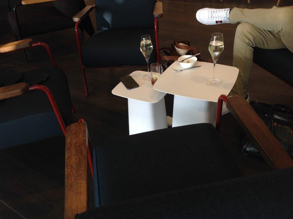 Live utdaterad: Senator Lounge, Zürich flygplats 5