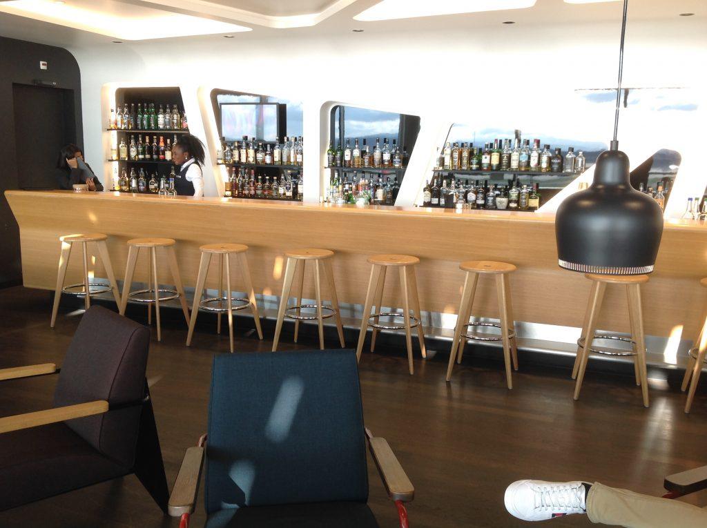 Live utdaterad: Senator Lounge, Zürich flygplats 6