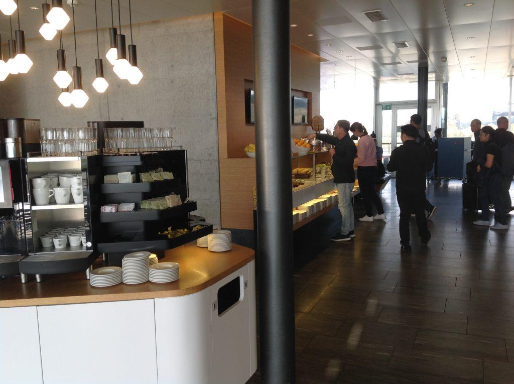 Live utdaterad: Senator Lounge, Zürich flygplats 8