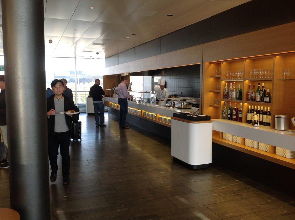 Live utdaterad: Senator Lounge, Zürich flygplats 9