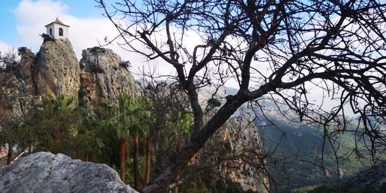 Guadalest, 548 meter över havet
