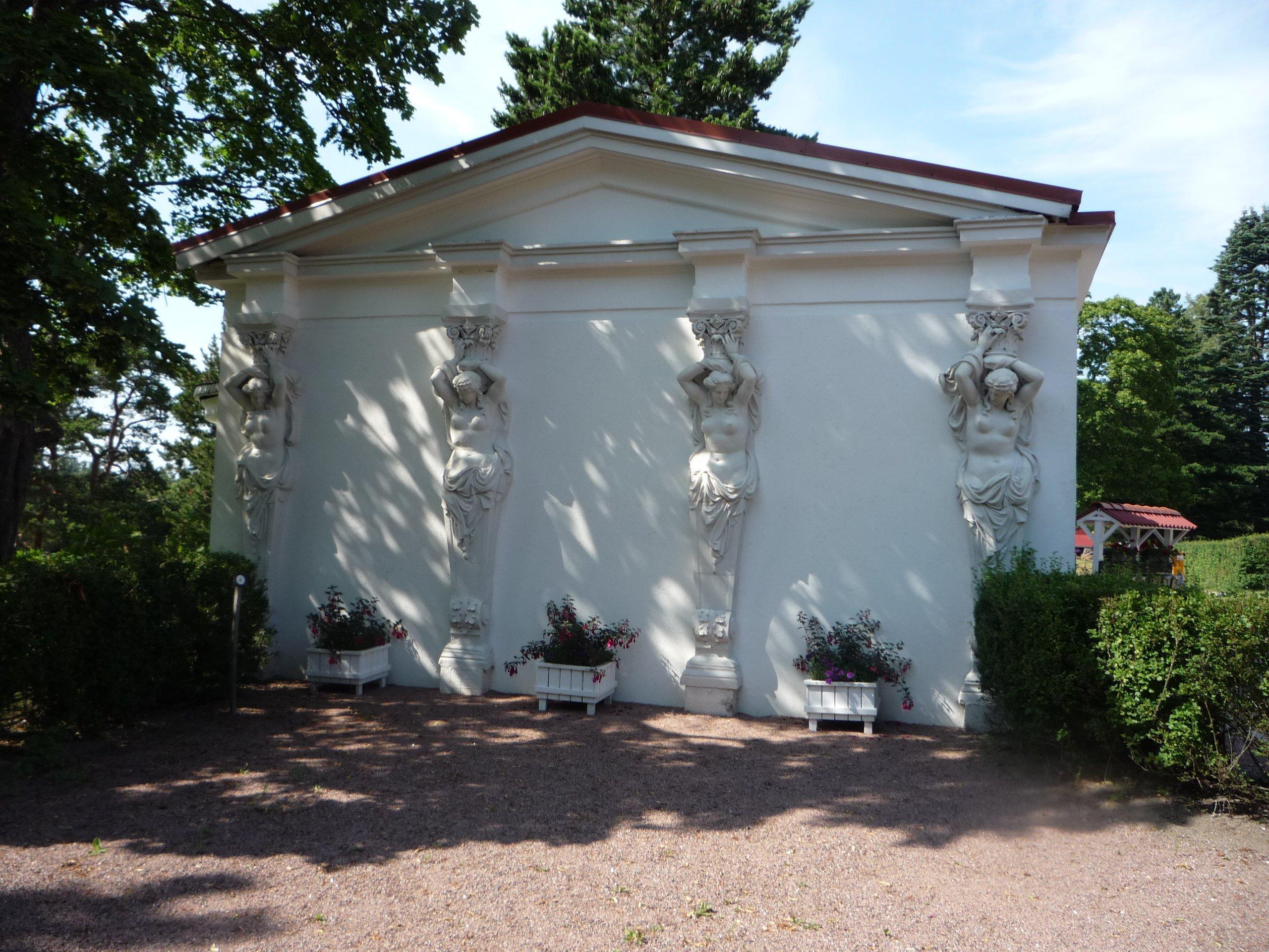 Resesidan.se om Amos Andersons Villa