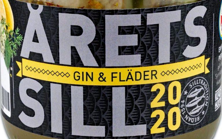 Årets sill 2020 är Gin & Fläder