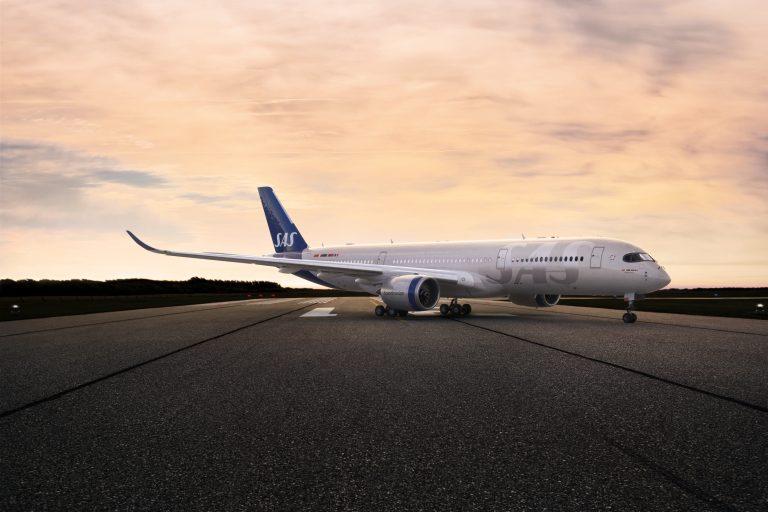 SAS nya flygplansmålning