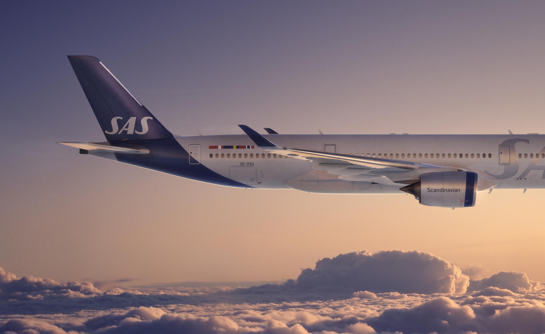 SAS nya flygplansmålning 2