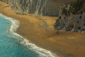 Kalksten vid hav