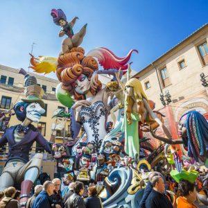Valencia firar sin stora fest: Fallas 18