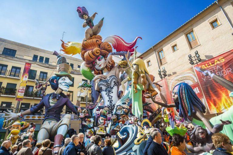 Valencia firar sin stora fest: Fallas