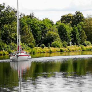 Vi reste längs med Göta kanal 10