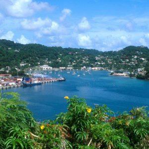 Grenada, avkoppling och Rom Punch 1