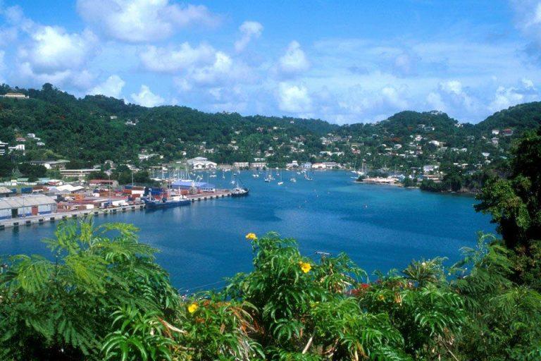 Grenada, avkoppling och Rom Punch