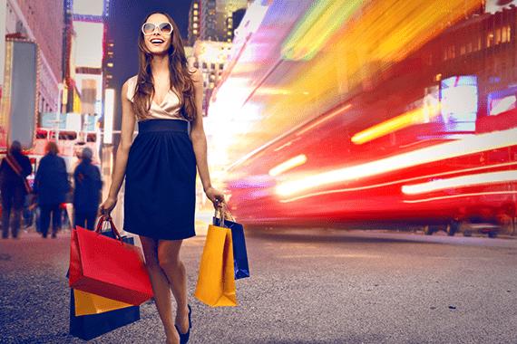 Världens mest exklusiva shoppingcenter