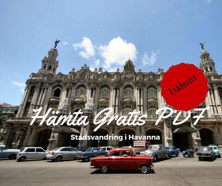 Ladda ned din kopia av Stadsvandring i Havanna