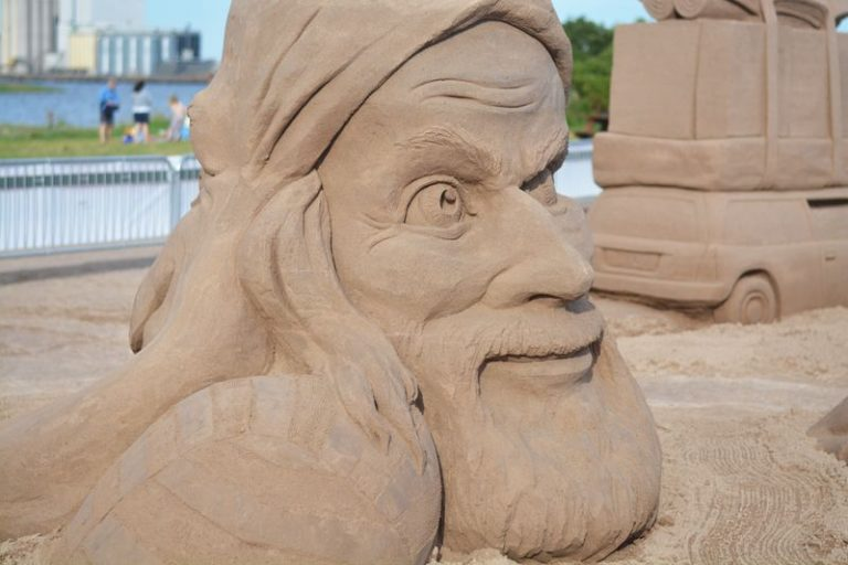 Sandskulpturfestivalen firar fem år!
