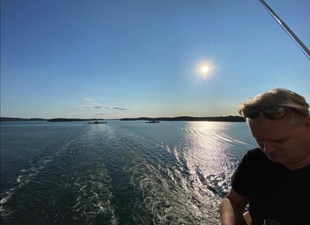 Utsikt på Silja Line - Resesidan